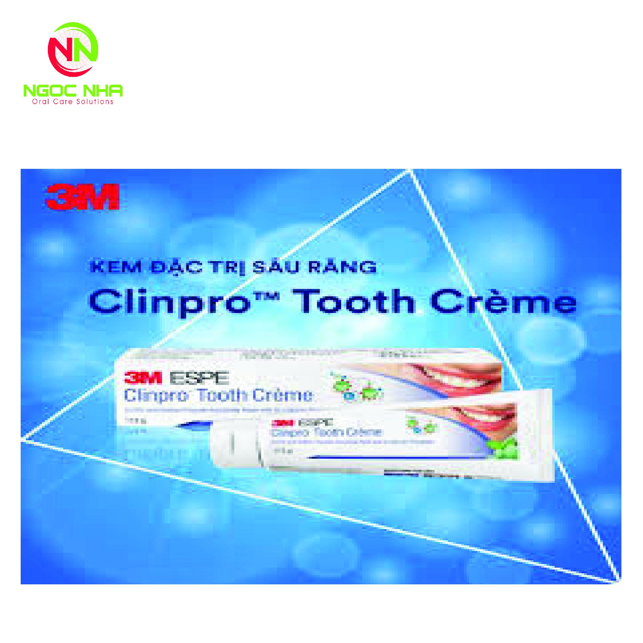 Kem đáng răng đặc trị sâu răng 3M Clinpro Tooth Crème