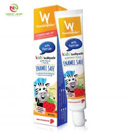 Kem đánh răng thiên nhiên cho trẻ em Pearlie White, ngừa sâu răng