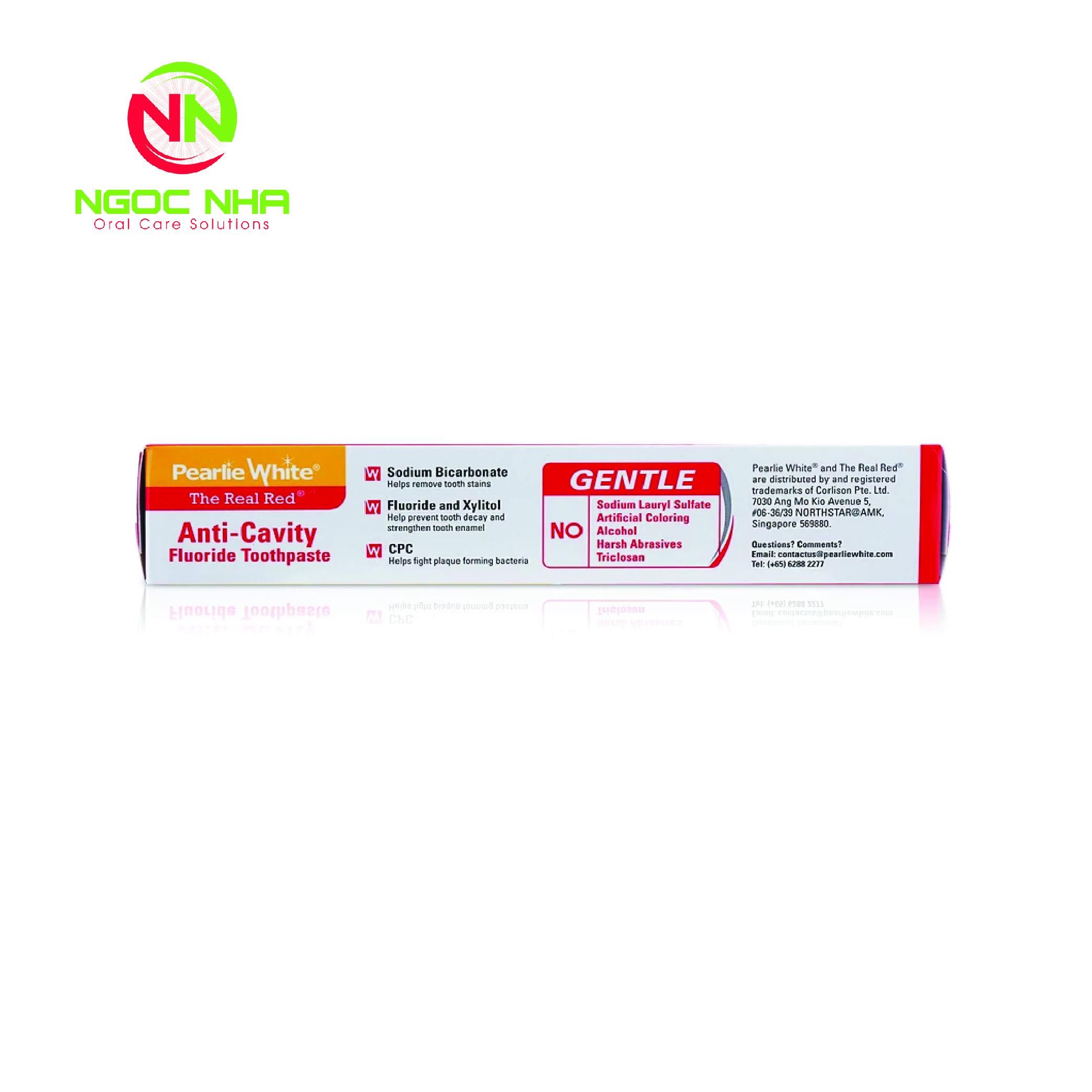 Kem đánh răng Flo chống sâu răng 138g (The Real Red Anti-Cavity Fluoride Toothpaste)