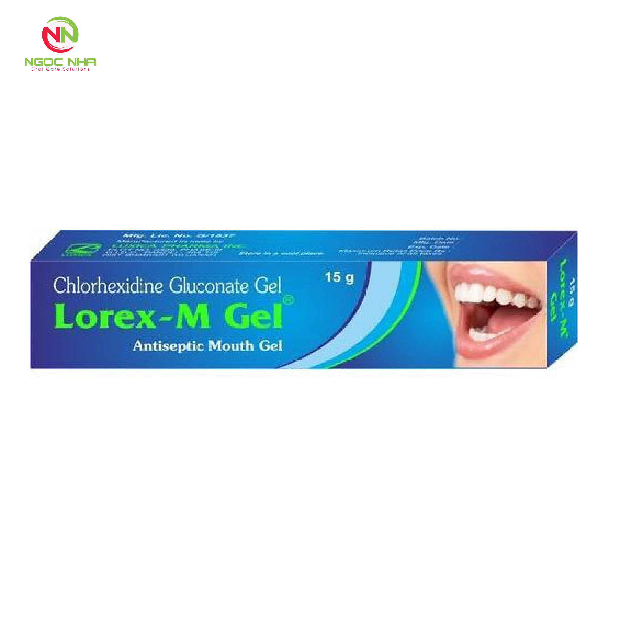 Gel bôi điều trị nha chu - viêm nướu Lorex - M gel 15g