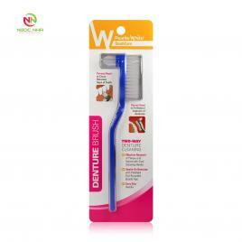 Bàn chải răng giả (Denture Brush) dành cho hàm tháo lắp