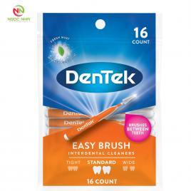 Bàn chải kẽ răng DENTEK Easy Brush standard, thích hợp cho người chỉnh nha