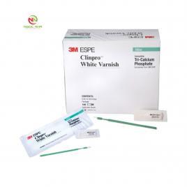 Gel bôi chống sâu răng 3M Clinpro White Varnish hộp 50 gói