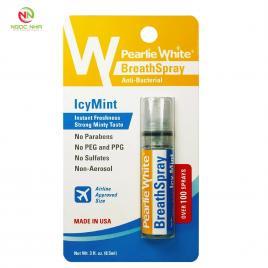 Xịt bạc hà cho hơi thở thơm mát 8.5ml (Breathspray Instant Breath Freshening Spray IcyMint 8.5ml)