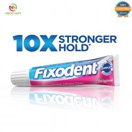Keo dán hàm răng giả hàm tháo lắp Fixodent 68g, hàng chính hãng/ Fixodent Denture Adhesive