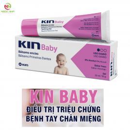 Gel bôi giúp giảm sưng nướu trẻ em khi mọc răng và bênh Tay Chân Miệng Baby Kin 30ml