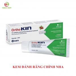 Kem đánh răng cho răng chỉnh nha, răng niềng Ortho Kin 75ml/ Tây Ban Nha